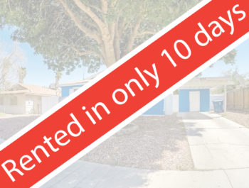 Rented San Leandro 10 days
